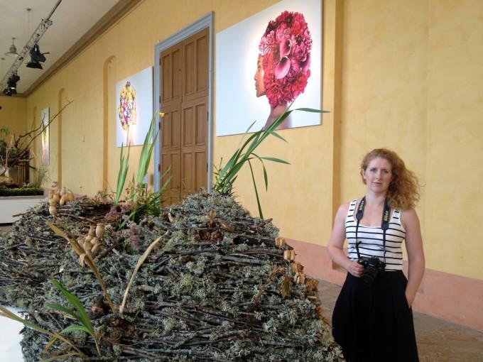 6. Anna Skjönsberg enjoying 'Last moment of Flowers'