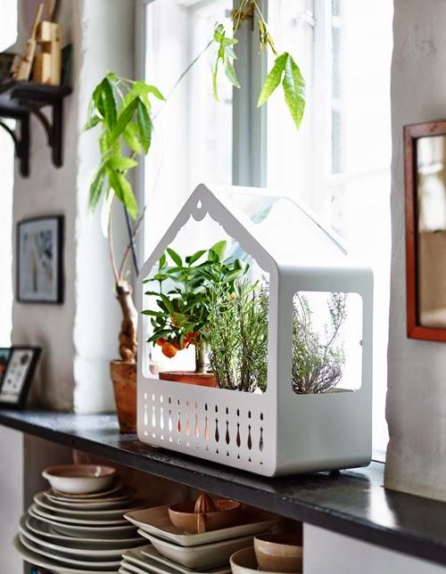 Små växthus från IKEA