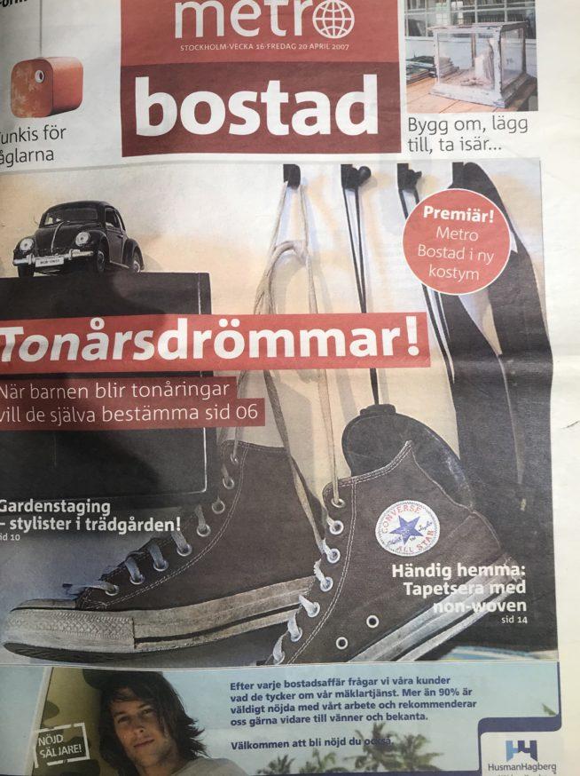 1. Framsida Metro Bostad